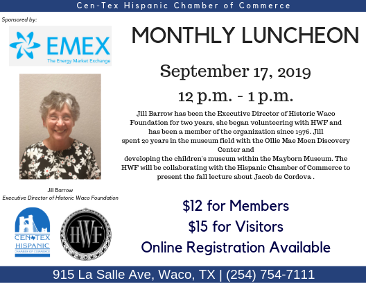 September Luncheon Flyer