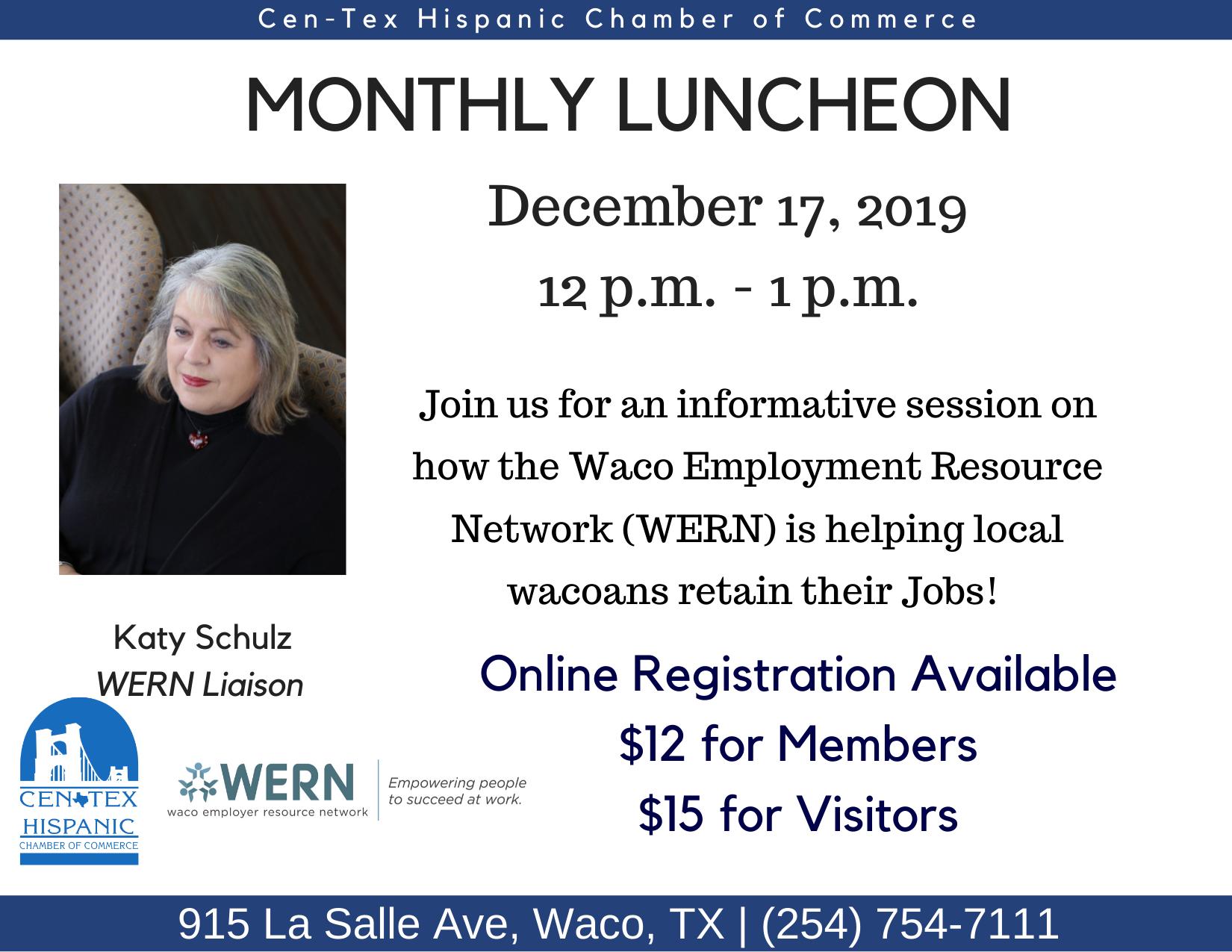 December Luncheon Flyer