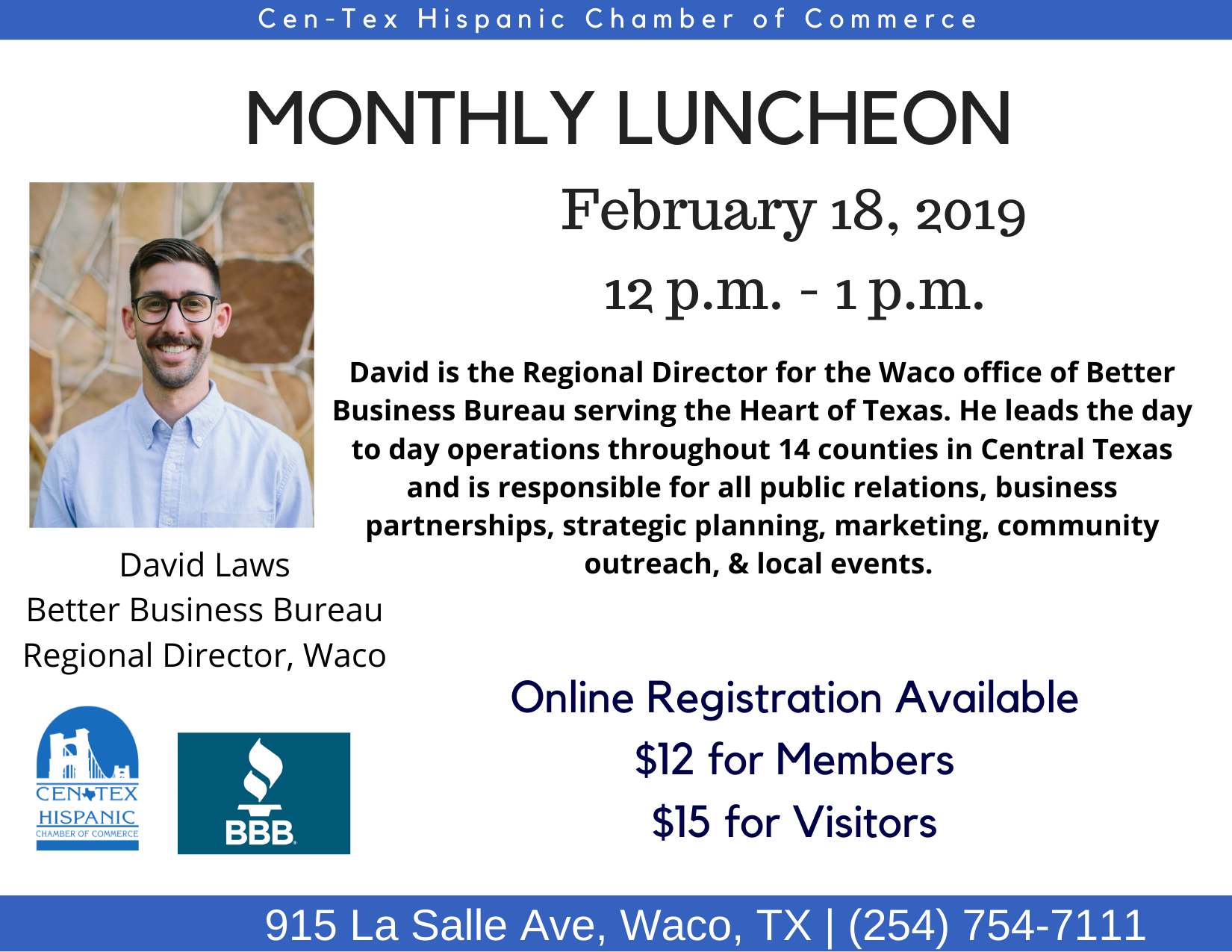 February Luncheon FLyer