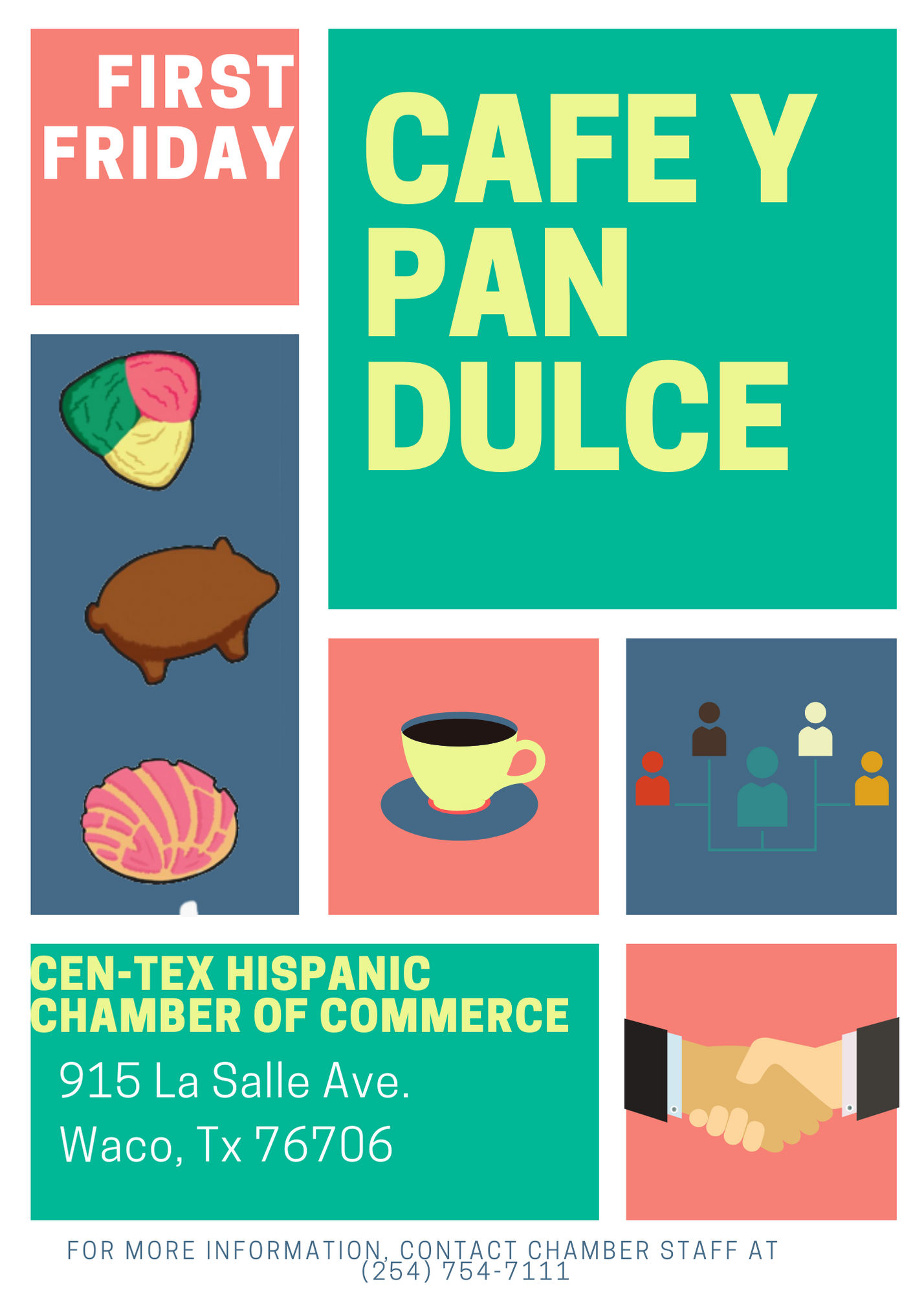 First Friday Cafe Y Pan Dulce