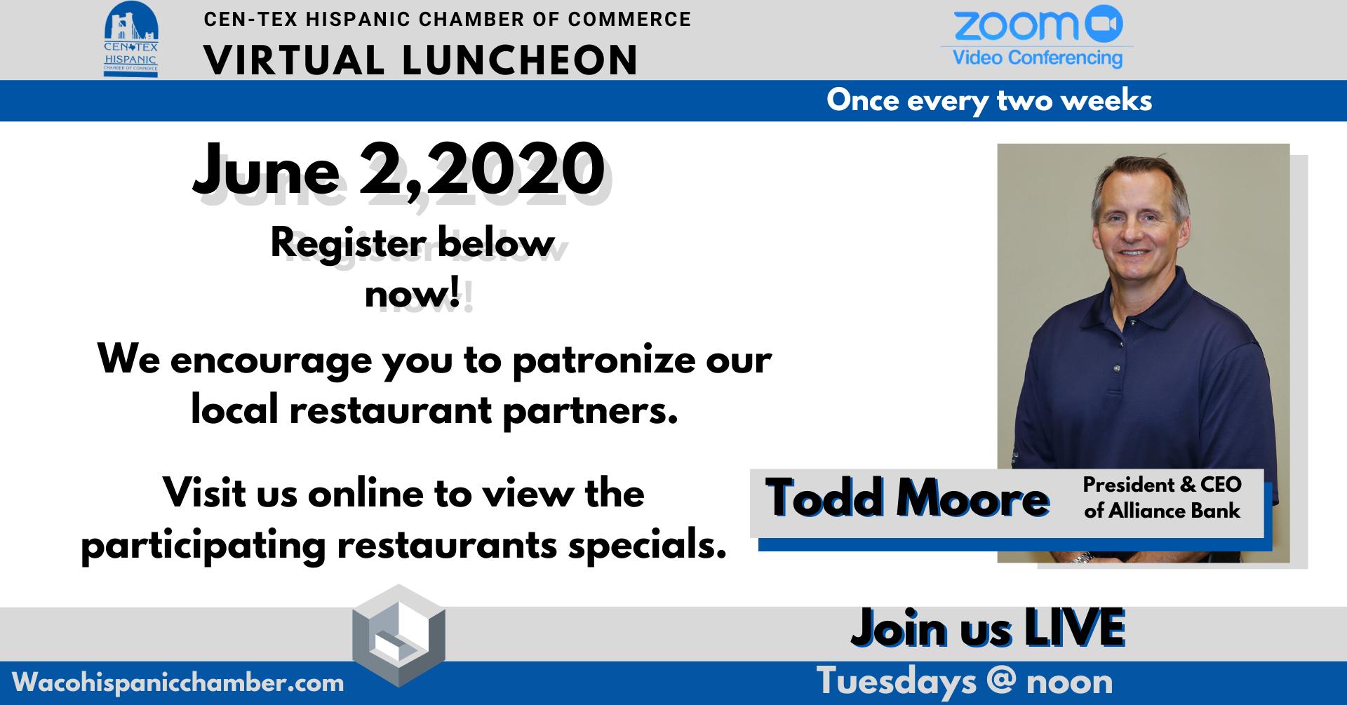 Todd Moore Luncheon