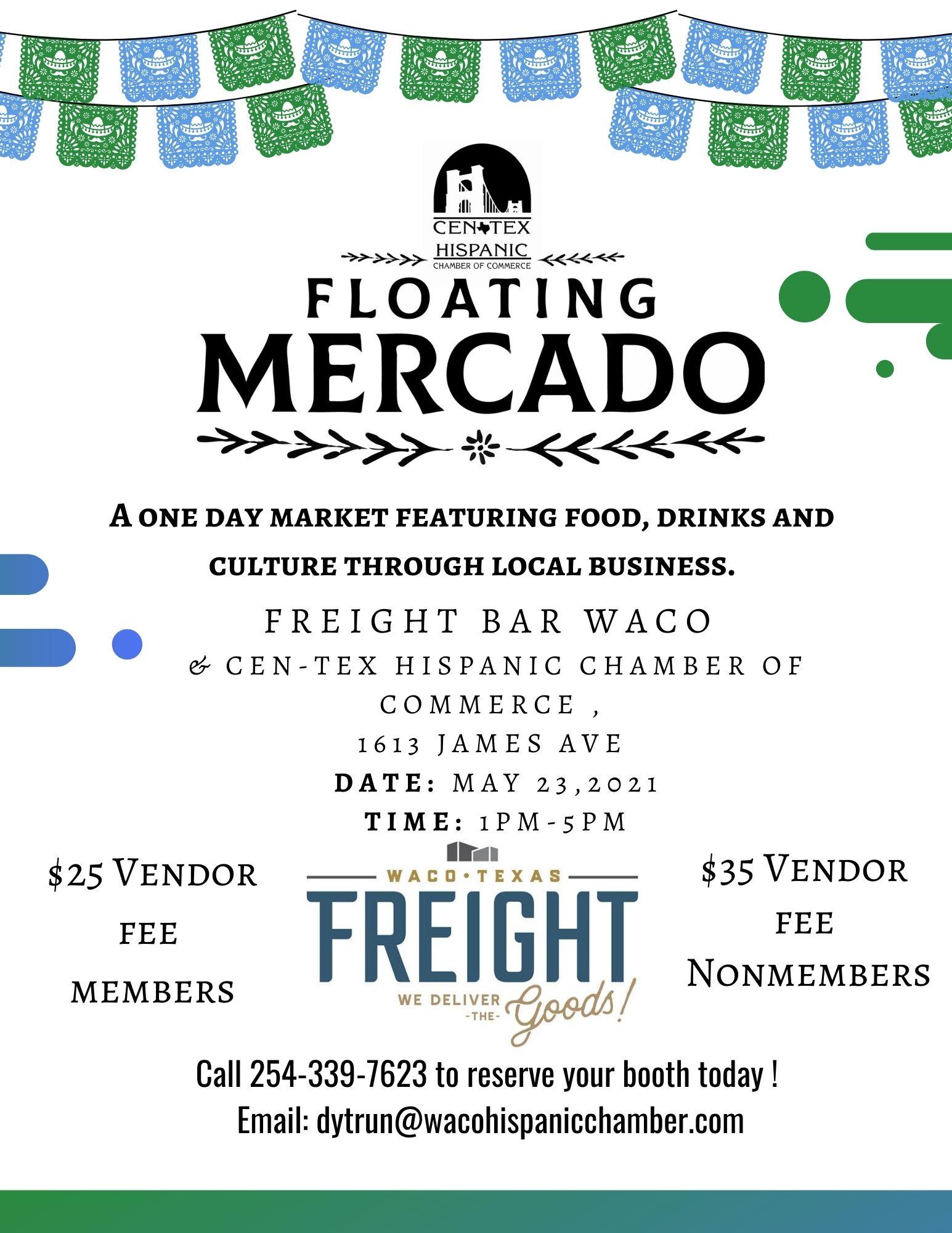 Freight Bar Waco Floating Mercado